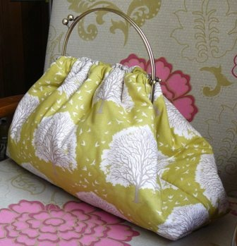 Budleigh bag - fabric # 9.  Made to order for Lisa.
