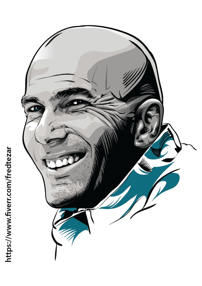 draw expressive vector portrait of you from photo
