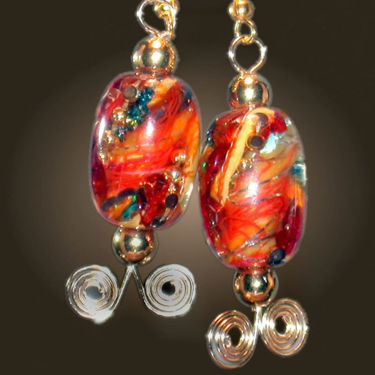 15 best lampwork glass bead making jewelry images on pinterest beautiful glass beads in the world of michael harrington fandeluxe Images
