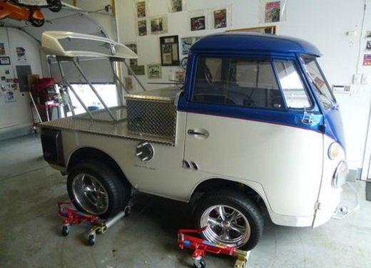 """Volkswagen T1 Pickup """"Shorty"""" del 1963 da 330 CV"""