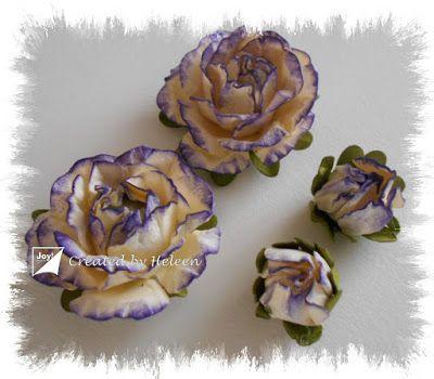 Joy!crafts: Bloemetjes maken...
