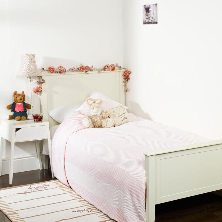 Couvre-lit matelassé rayé pour enfant | King of Cotton