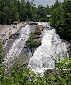 NC waterfalls at Dupont State Forest