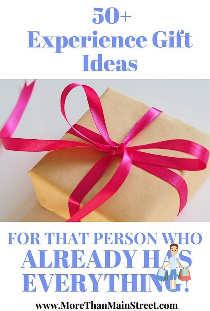 Struggling To Find The Perfect Gift Over 50 Unique Gift Ideas For What To Get The Person Who Has Ev In 2020 Experience Gifts Gifts For Women Christmas Gifts For Women
