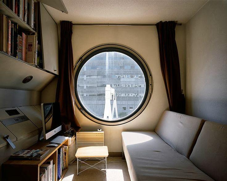 the year that i was born : photography : 1972 by Noriaka Minami : architecture : Nakagin Capsule Tower by Kisho Kurokawa : tokyo