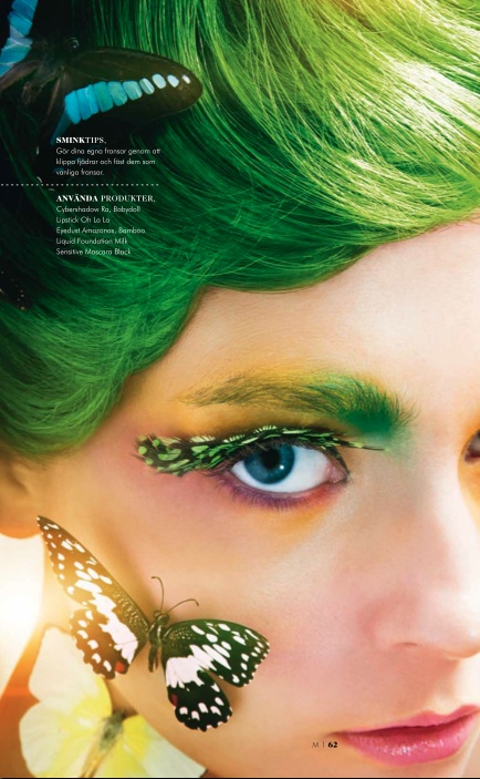 Green butterfly Makeup, Makeup store, Best makeup products