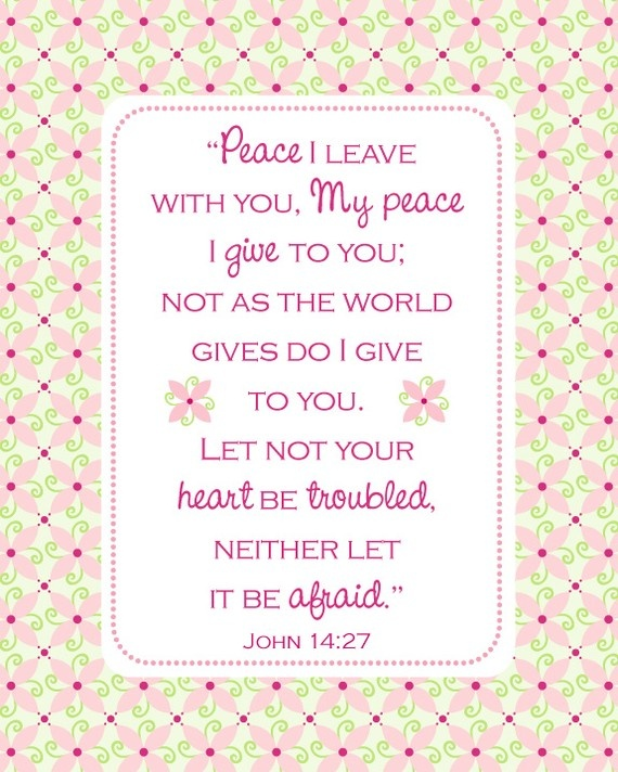 Peace I leave with you......: John 14 27, Inspiration Stuff, God, Bible Quotes, Faith, Peace, Scriptures, 1427, Bible Verses