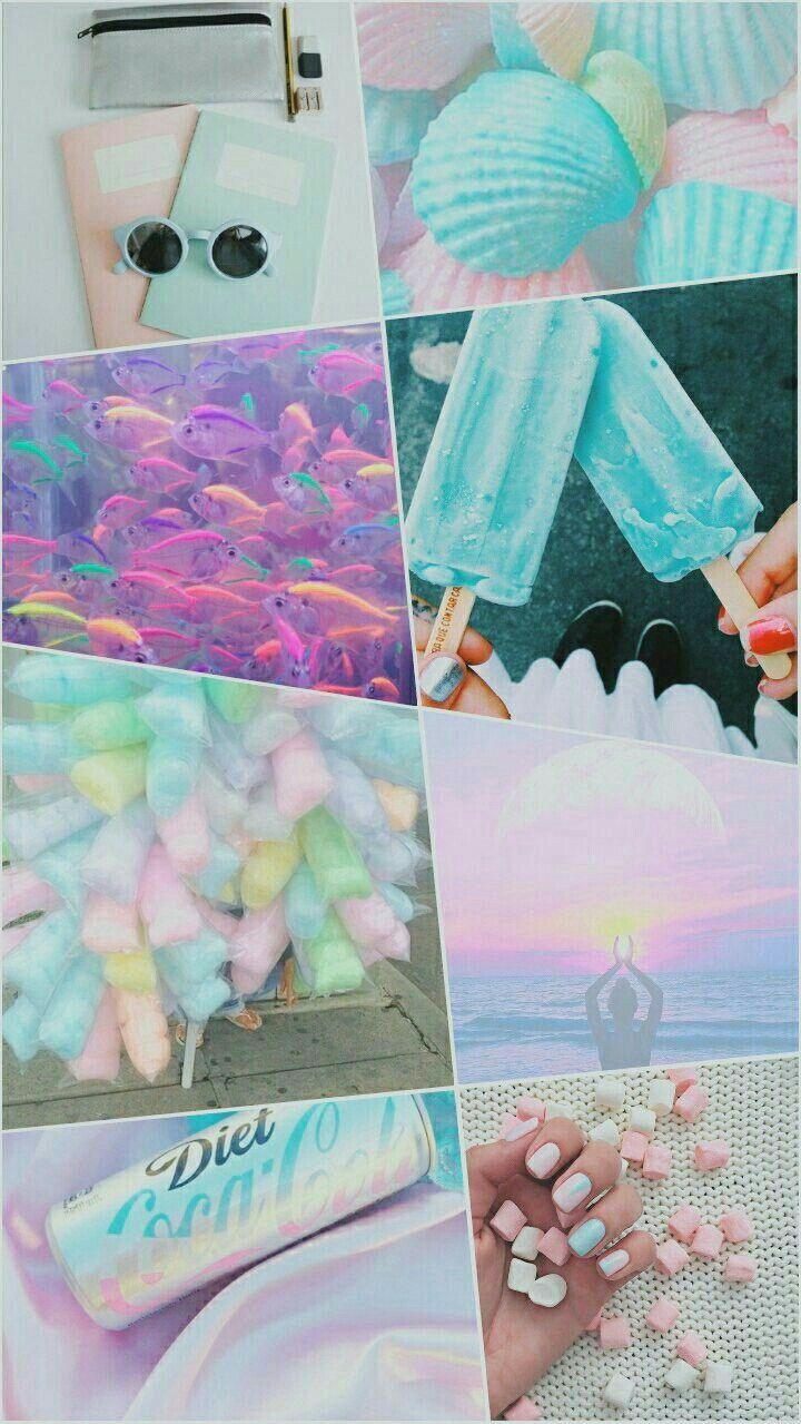 Pastel Kawaii Aesthetic Wallpaper