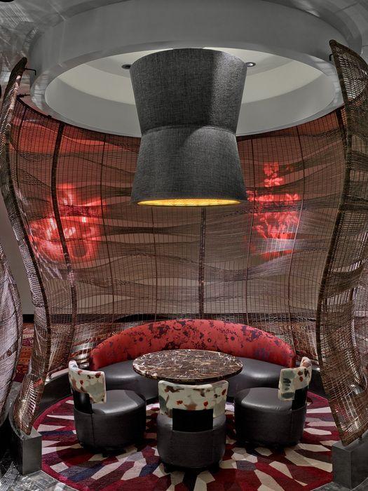 Nobu Restaurant And Lounge Caesars Palace At The Hotel Las Vegas Designed