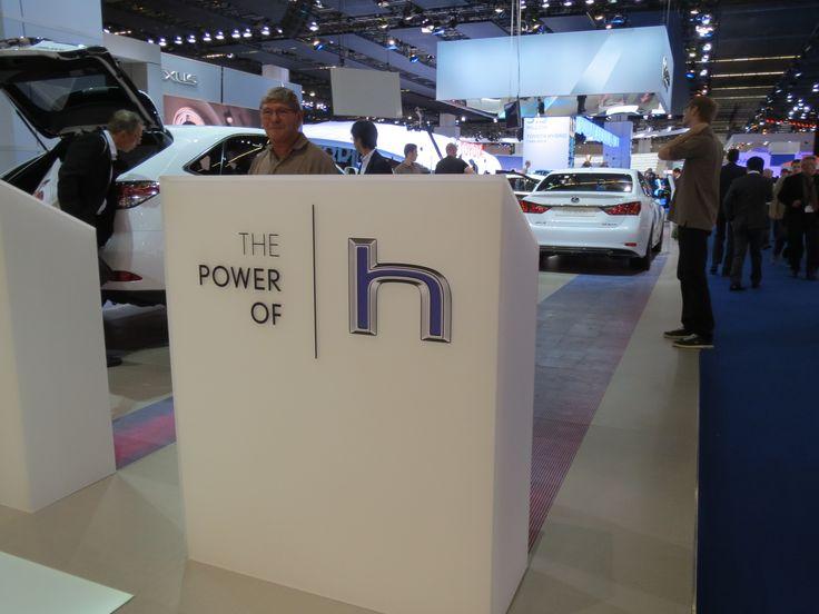 """Hybrid var det altoverskyggende tema på IAA 2013 - og her var Lexus selvfølgelig lige i deres es. Hvis reg.afgiften i DK bliver ændret, så hybrid også får gavn af """"grønne afgifter"""", så kunne de måske godt få et (lille) fodfæste her i landet."""