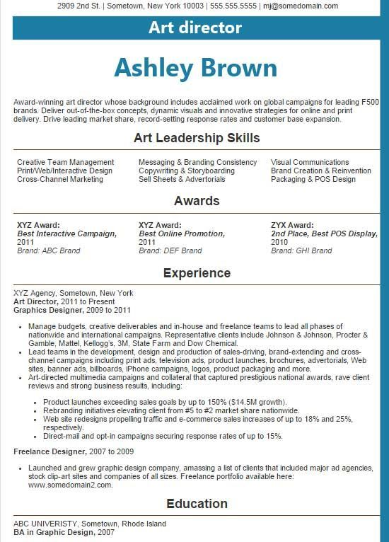 Best Sample Resume 2016 Sample Resumes Professional Resume - winning resume examples