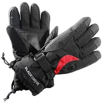 Black canyon mens #skiing #gloves - s, #black #black/red,  View more on the LINK: http://www.zeppy.io/product/gb/2/131965394878/