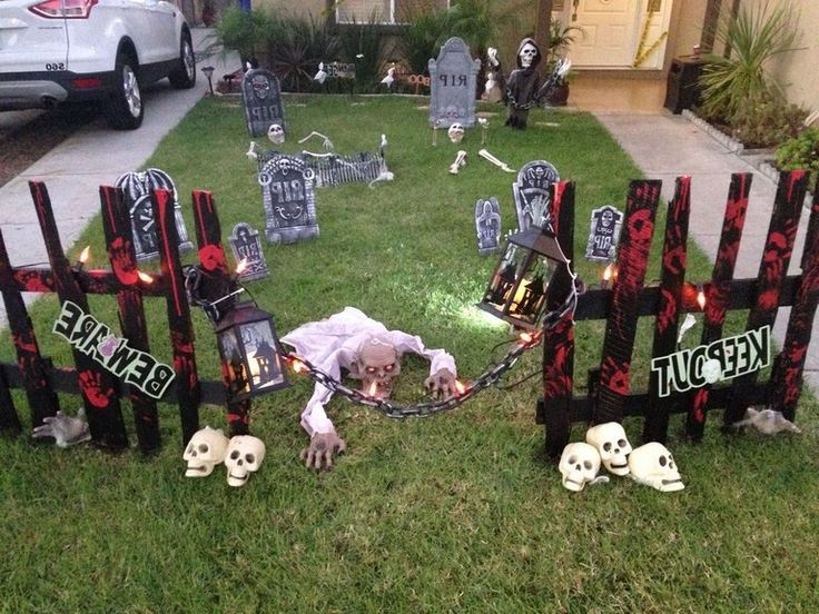 20+Superb Front Yard Halloween Decoration Ideas To Try Asap