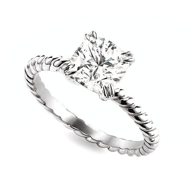 David Yurman solitaire engagement ring