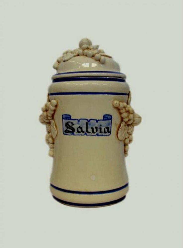 Antique Pharmacy Jar, Italy 1880s