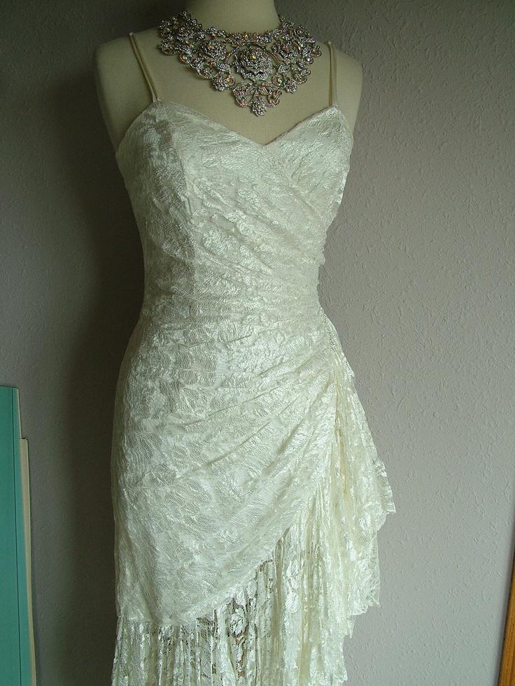 1920s flapper wedding dresses styles