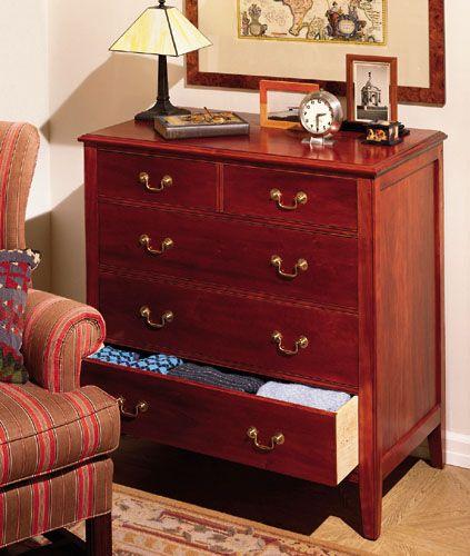 How To Build A Classic 5-Drawer Cherry Dresser  - PopularMechanics.com
