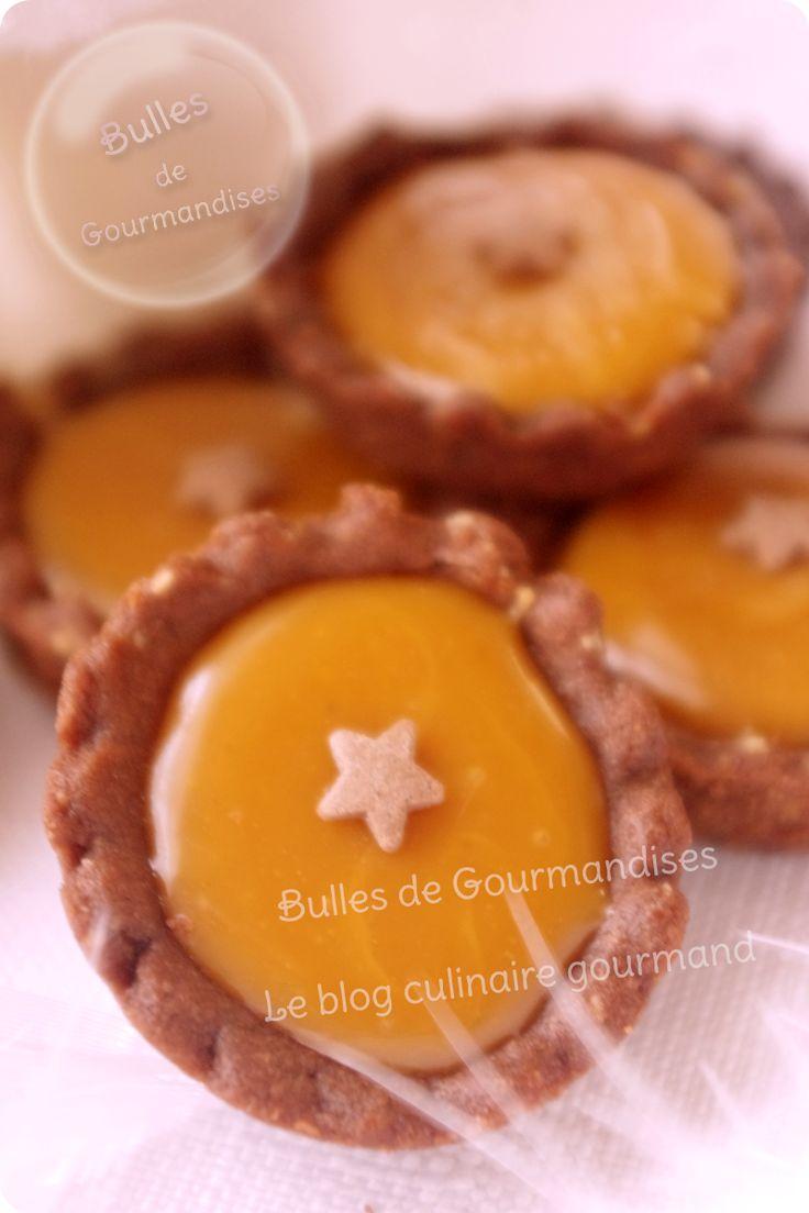 Mini-tartelette chocolat caramel beurre salé... Les papilles sont aux anges !!!