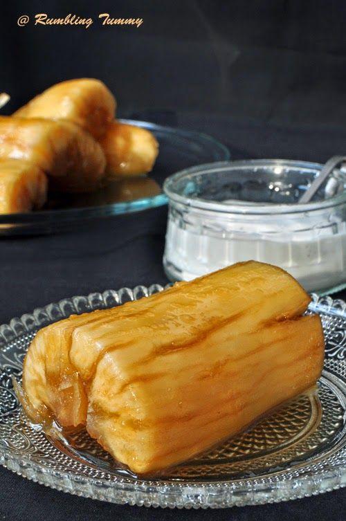 Thai Candied Cassava (Mon-ted Chuame)