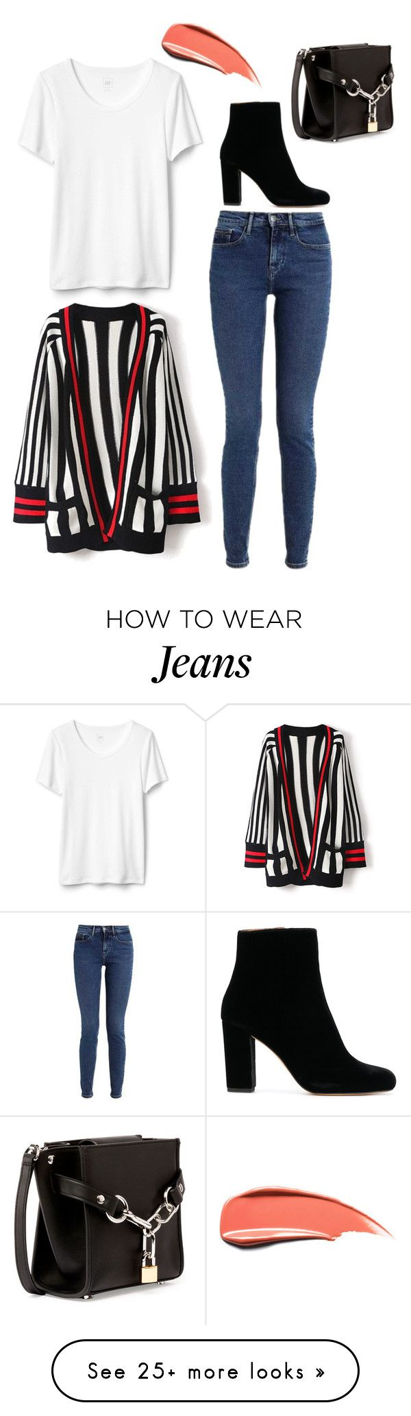 """""""#821"""" by anna-siegl on Polyvore featuring Calvin Klein, WithChic, IRO and Alexander Wang"""