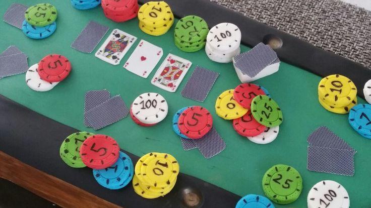 Pokertafeltaart