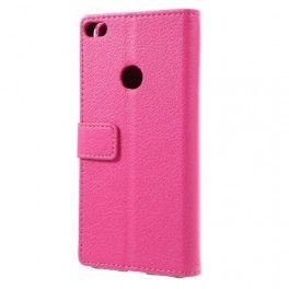 Huawei Honor 8 Lite hot pink puhelinlompakko.