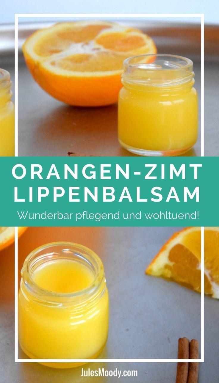 Nourishing Orange Cinnamon Lip Balm & Pinterest Idea Journey