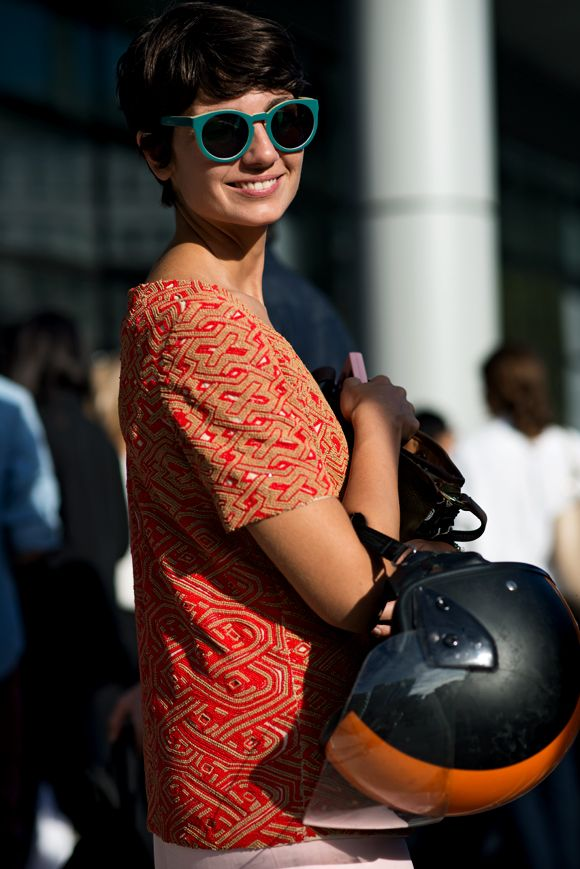 #sunny #orange #great #outfit #street style