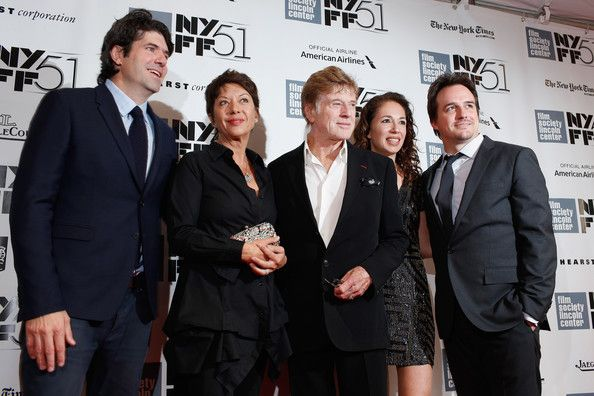Robert Redford - Arrivals at the NYFF Premieres