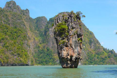 James Bond Felsen, Phang Nga Bucht, Thailand