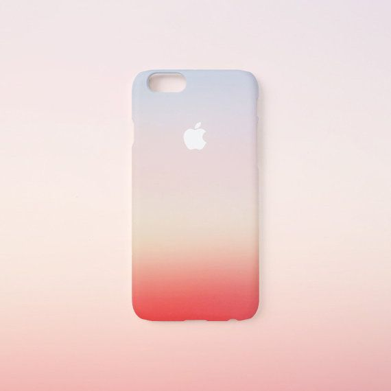 iPhone 6 s étui Sunset iPhone 6 s cas iPhone 6 par evoncase