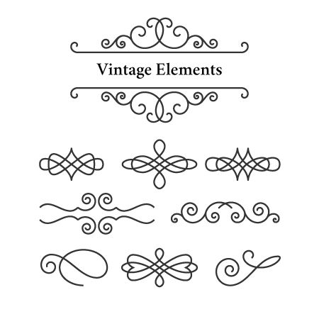 Create Vintage Ornament Elements With VectorScribe In Illustrator