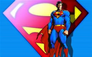 Superman, real name Kal-El, secret identity Clark Kent  DC Comics