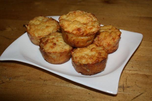 Sajtos muffin
