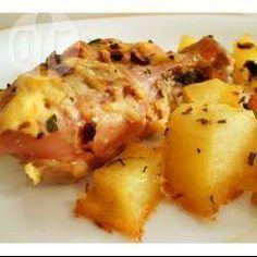 Frango com creme de cebola e maionese @ allrecipes.com.br