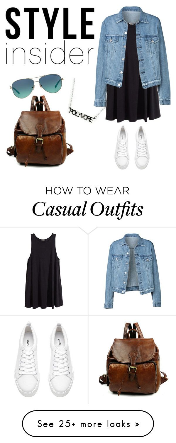 """Casual"" by slmac on Polyvore featuring H&M, Tiffany & Co., contestentry and styleinsider"