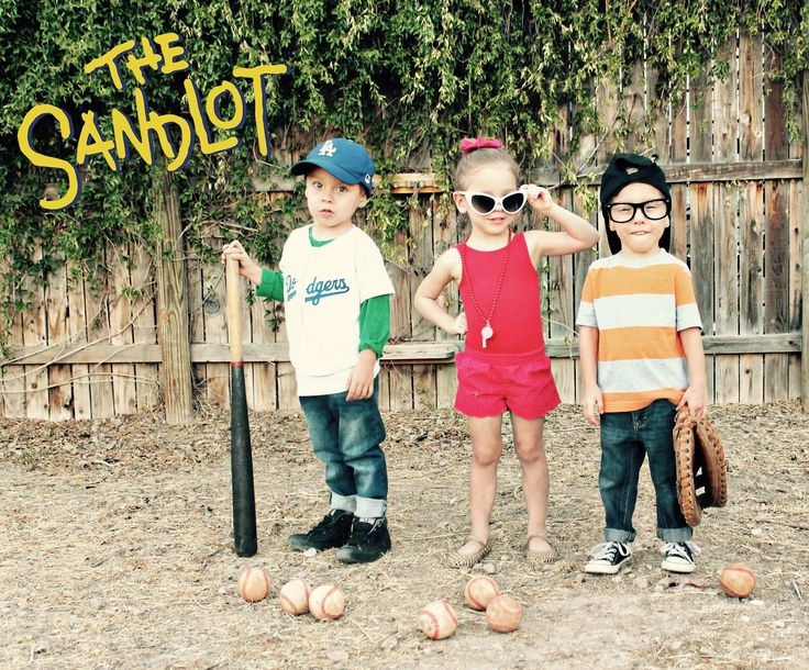 Kids Sandlot Costumes Halloween  Triplet Costumes