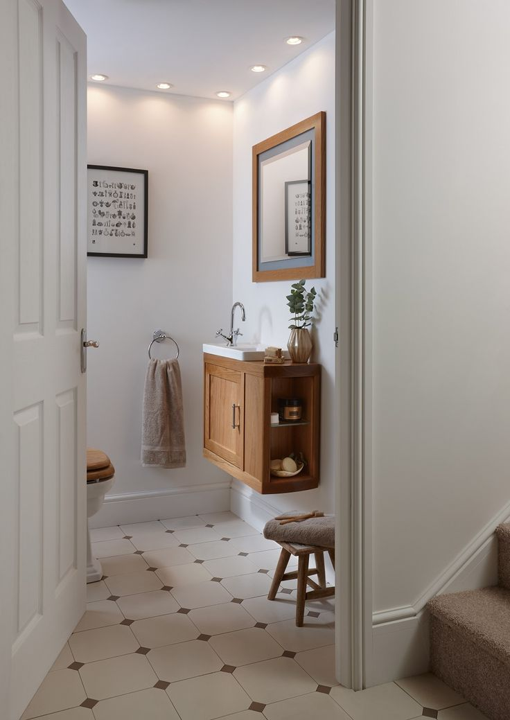 """""""It's vital to make the most use of your space in the smallest room, so choose a vanity which will help you to do so. The sleek lines of the wall-hung Thurleston vanity unit will blend in with a contemporary … Continue reading →"""