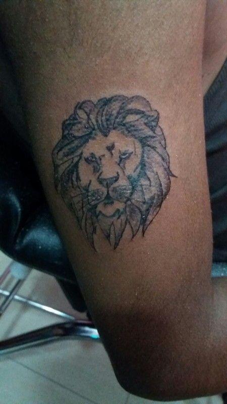 Lion tattoo ..arm tattoo