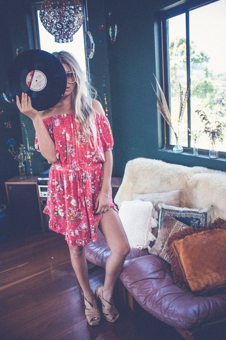 floral boho dress.instagram: gypsydelight
