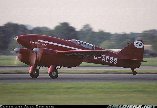 De Havilland DH-88 Comet aircraft picture