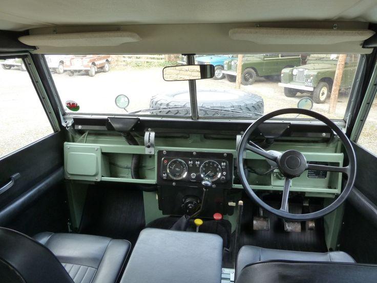 land rover defender series 2 interior - Google Search