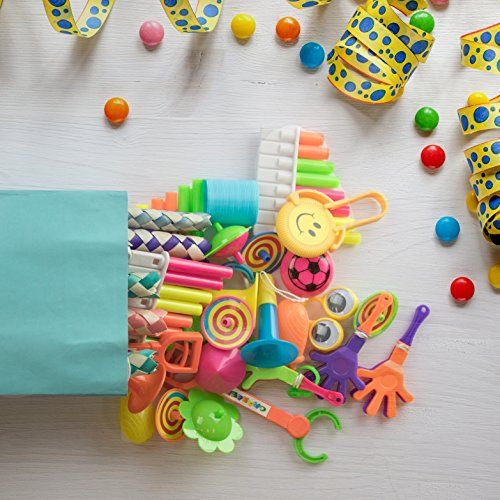 120 Pc Party Favor Toys For Kids - Bulk Party Favors For Boys And Girls - Small Toys For Goody Bags, Pinata Fillers or Prizes For Birthday Party Games - https://www.partysuppliesanddecorations.com/120-pc-party-favor-toys-for-kids-bulk-party-favors-for-boys-and-girls-small-toys-for-goody-bags-pinata-fillers-or-prizes-for-birthday-party-games.html