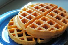 """Apparently the best waffle recipe in the world """"Waffle of Insane Greatness"""" - for someday when I get a waffle iron!"""