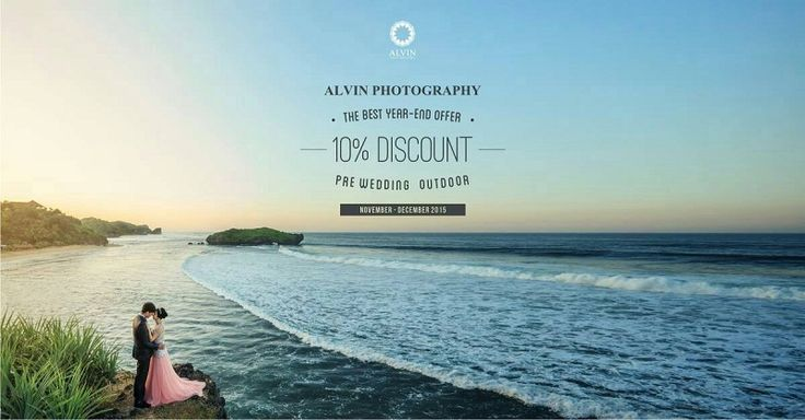 Really want to have an extraordinary pre wedding photoshoot with the best price? Now, you can enjoy our best year-end offer for your Pre Wedding Photoshoot. Get 10% for Pre Wedding Outdoor at Alvin Photography start from November until the end of December. Book now and make your dream comes true with us!