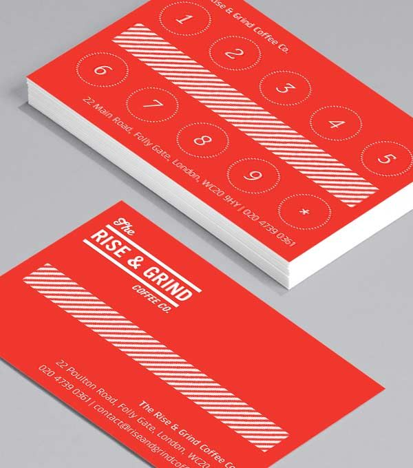 Business Card designs - Rise and Grind Loyalty                                                                                                                                                      More
