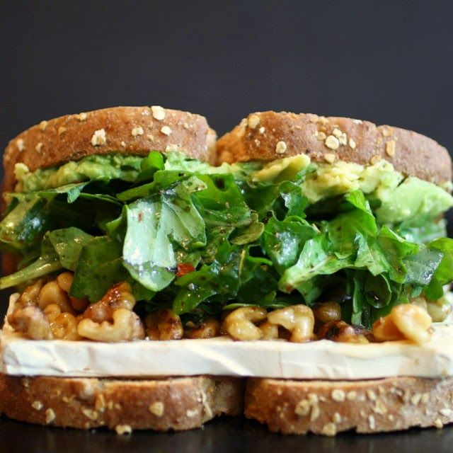 ... Sandwich with Oroweat: Honey, Walnut and Brie With Avocado and Arugula