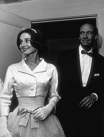 Audrey Hepburn and Mel Ferrer Los Angeles CA
