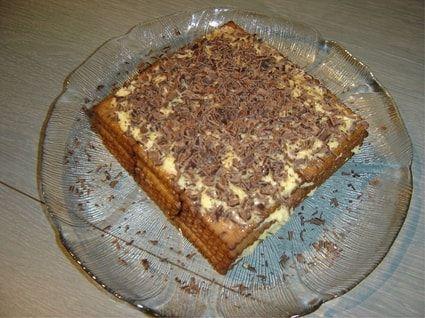 Gâteau thé brun
