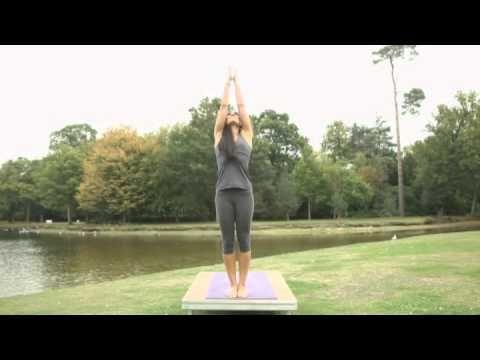 Elements of Yoga: Earth Foundation with Tara Lee.  I love this DVD.  Tara is so calming, io always feel great afterwards.